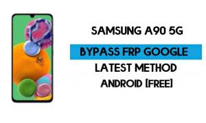 Samsung A90 5G (SM-A908B) FRP Bypass Android 11 R (Unlock GMAIL)