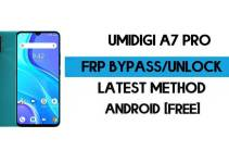 UMiDIGI A7 Pro FRP Bypass – Unlock Google GMAIL Verification (Android 10) – Without PC
