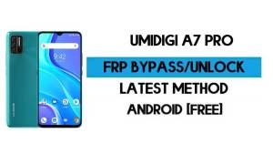 UMiDIGI A7 Pro FRP Bypass Without PC - Unlock Gmail lock Android 10