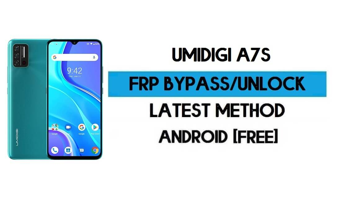 UMiDIGI A7s FRP Bypass Without PC - Unlock Google Gmail Android 10