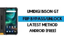 UMiDIGI Bison GT FRP Bypass – Unlock Google GMAIL Verification (Android 10) – Without PC