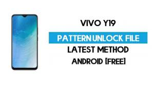 Vivo Y19 1915 Pattern Unlock File - Remove Without Auth - SP Flash Tool