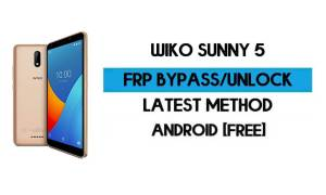 Wiko Sunny 5 FRP Bypass Without PC - Unlock Google Android 10 Go