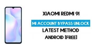 Xiaomi Redmi 9i Mi Account Remove With SP Flash Tool Free