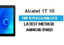 Alcatel 1T 10 FRP Bypass – Unlock Gmail Google Account (Android 8.1) (Without PC)