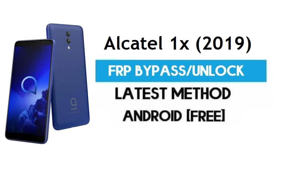 Alcatel 1x (2019) FRP Bypass – Unlock Google Gmail Lock Android 8.1