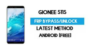 Gionee S11S FRP Bypass – Unlock Gmail Lock Android 7.1 (Without PC)