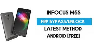 InFocus M5s FRP Bypass – Unlock Gmail Lock Android 7.0 (Without PC)