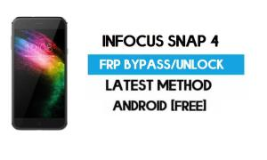 InFocus Snap 4 FRP Bypass – Unlock Gmail Lock Android 7 (Without PC)