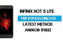 Infinix Hot 5 Lite FRP Bypass – Unlock Gmail Lock (Android 7.0) [Fix Location & Youtube Update]