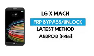 LG X Mach FRP Bypass – Unlock Google GMAIL Without PC [Android 6.0]