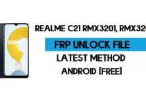 Realme C21 FRP File (With DA) RMX3201, RMX3202 Unlock by SP Tool – Latest Free