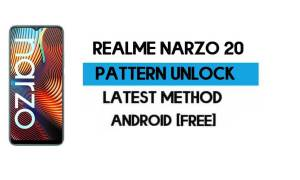 Realme Narzo 20 Pattern Unlock File (Remove Screen Lock) Without AUTH (RMX2191) – SP Flash Tool