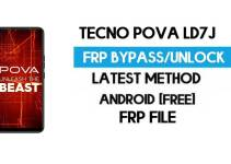 Tecno Pova LD7J FRP File (With DA) Unlock by SP Tool – Latest Free