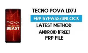 Tecno Pova LD7J FRP File (With DA) Unlock by SP Tool - Latest Free