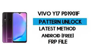 Vivo Y17 PD1901F Pattern Unlock File - Remove Without Auth - SP Tool