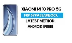 Xiaomi Mi 10 Pro 5G MIUI 12.5 FRP Unlock/Google Account Bypass easy