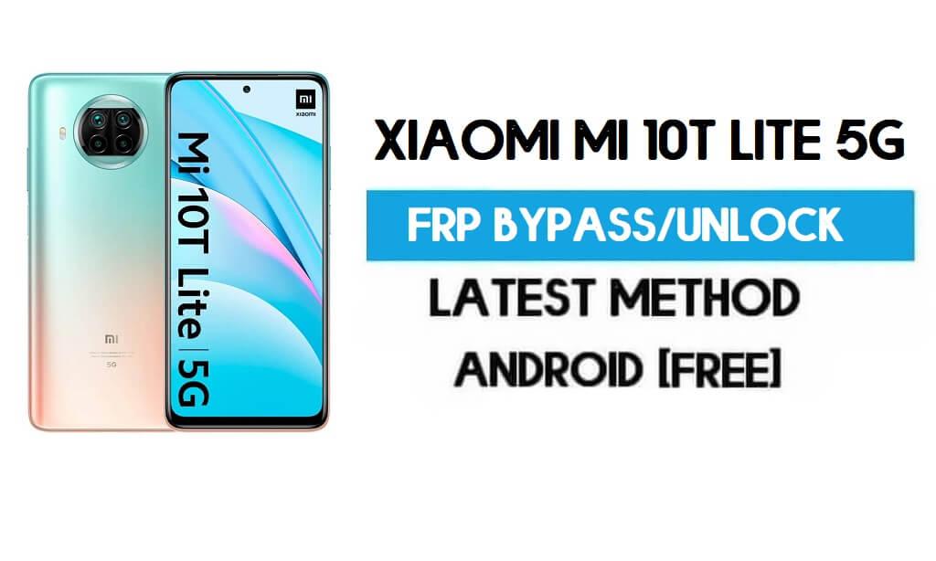 Xiaomi Mi 10T Lite 5G MIUI 12.5 FRP Unlock/Google Account Bypass