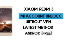 Xiaomi Redmi 3 Mi Account Remove Without VPN Qfil Flash Tool Free [MIUI 7]