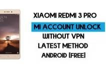 Xiaomi Redmi 3 Pro Mi Account Remove Without VPN Qfil Flash Tool Free [MIUI 7]