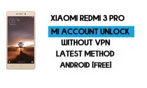 Xiaomi Redmi 3 Pro Mi Account Remove File Free Download Qfil Tool