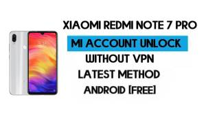 Xiaomi Redmi Note 7 Pro Mi Account Remove Without VPN Qfil Flash Tool Free