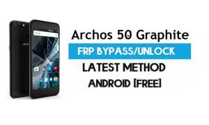 Archos 50 Graphite FRP Bypass – Unlock Gmail lock Android 7.0 [Latest]