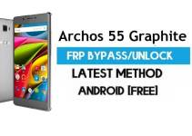Archos 55 Graphite FRP Bypass – Unlock Gmail Lock (Android 7.1) [Fix Location & Youtube Update]