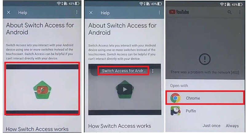 About Switch Access for Asus Zenfone 3 Max FRP Bypass Unlock Google Android 7 Gmail unlock