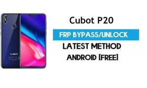 Cubot P20 FRP Bypass – Unlock Gmail Lock Android 8.1 Without PC Free
