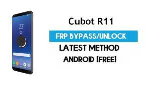 Cubot R11 FRP Bypass – Unlock Gmail Google Account (Android 8.1) (Without PC)