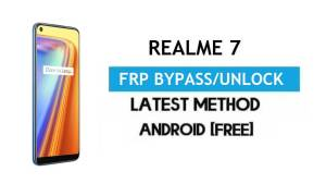 Realme 7 Android 11 FRP Bypass – Unlock Google Gmail Without PC