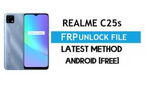 Realme C25s RMX3195/RMX3197 FRP File (With DA) Unlock by SP Tool – Latest Free
