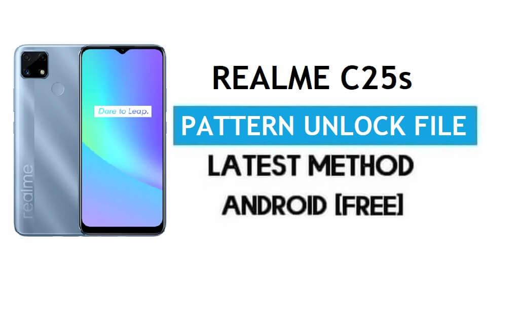 Realme C25s Pattern Unlock/Remove File With DA [SP Tool] 100% Free