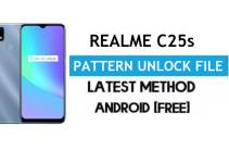 Realme C25s RMX3195/RMX3197 Pattern Unlock File (Remove Screen Lock) Without AUTH – SP Flash Tool