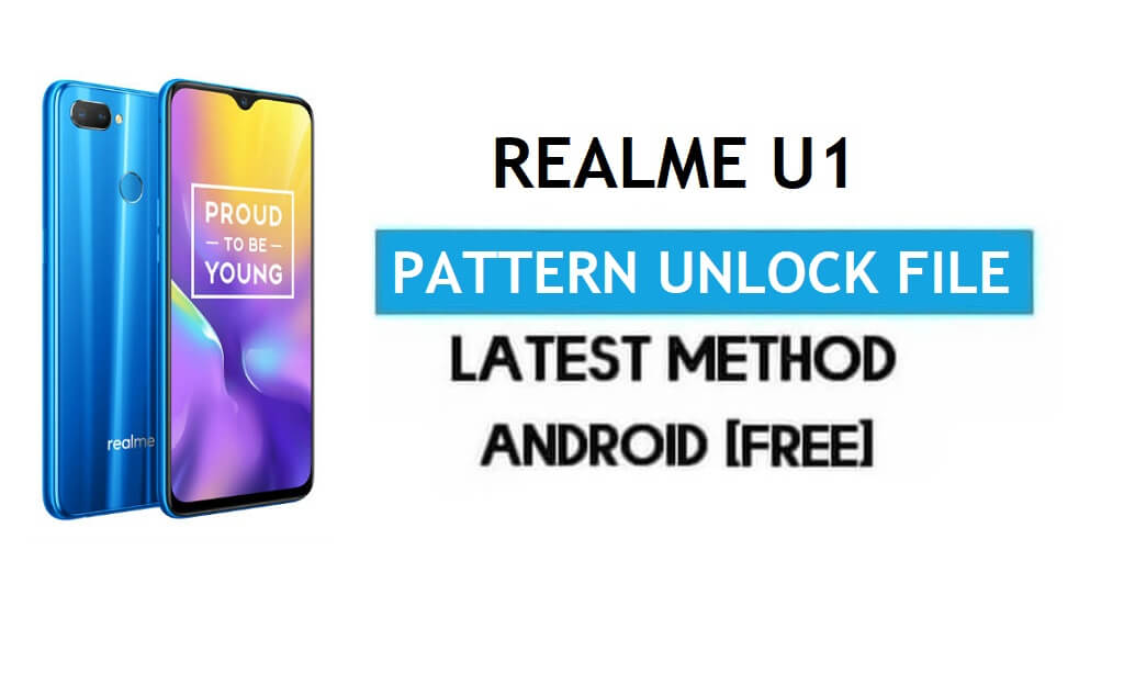 Realme U1 Pattern Unlock/Remove File With DA [SP Tool] 100% working