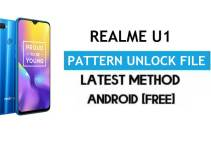 Realme U1 RMX1833 Pattern Unlock File (Remove Screen Lock) Without AUTH – SP Flash Tool