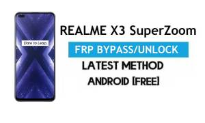 Realme X3 SuperZoom Android 11 FRP Bypass – Unlock Google Gmail