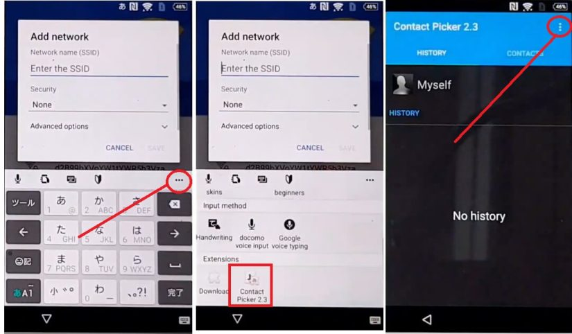 Change color picker to Sony Android 6 FRP bypass Unlock Google Account Without PC