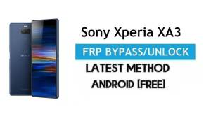 Sony Xperia XA3 FRP Bypass – Unlock Gmail lock Android 9.0 Without PC