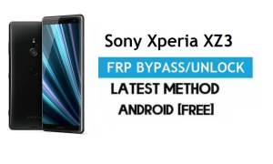 Sony Xperia XZ3 SOV39 FRP Bypass – Unlock Google Gmail Lock [Without PC] Android 10