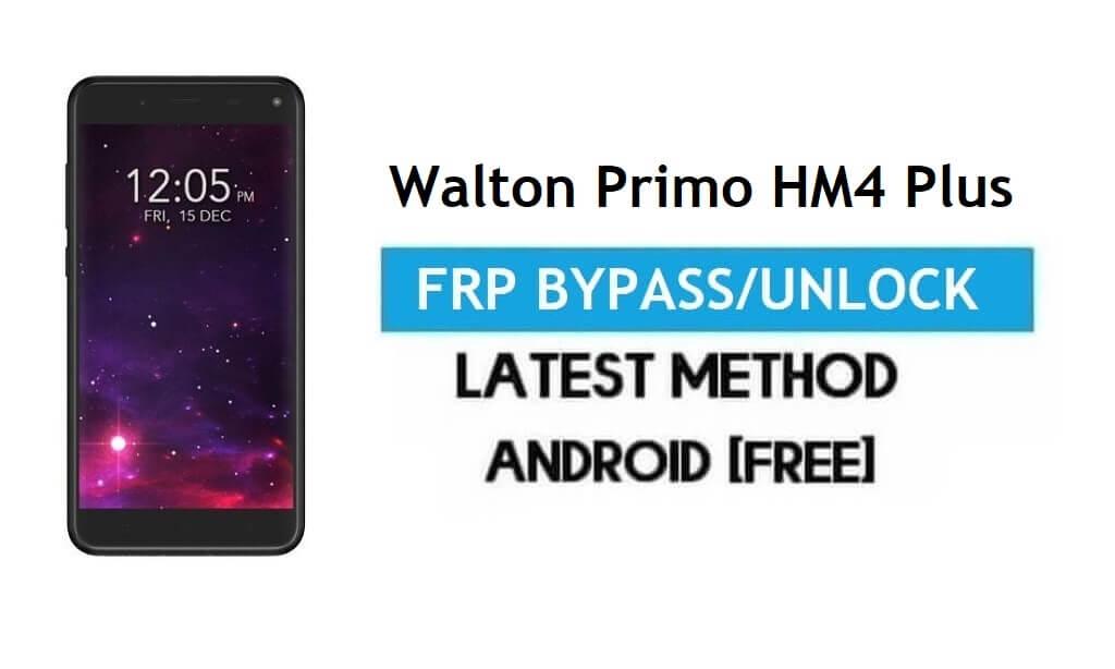 Walton Primo HM4 Plus FRP Bypass – Unlock Gmail Lock Android 7.0