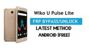 Wiko U Pulse Lite FRP Bypass – Unlock Gmail Lock Android 7 Without PC