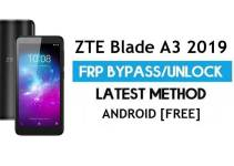 ZTE Blade A3 2019 FRP Bypass Android 9.0 Go – Unlock Google Gmail Lock [Without PC] Latest Method