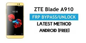 ZTE Blade A910 FRP Bypass Android 6.0.1 – Unlock Google Gmail Lock [Without PC]