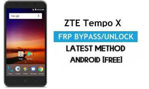 ZTE Tempo X FRP Bypass – Unlock Gmail Lock Android 7.11 Without PC