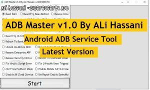ADB Master v1.0 By ALi Hassani - Android ADB Service Tool Latest Version Download
