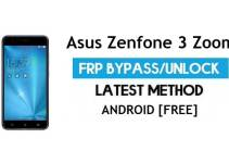 Asus Zenfone 3 Zoom ZE553KL FRP Bypass Android 8.1 – Unlock Google Gmail Lock [Without PC]