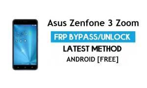 Asus Zenfone 3 Zoom ZE553KL FRP Bypass - Unlock gmail lock Android 8
