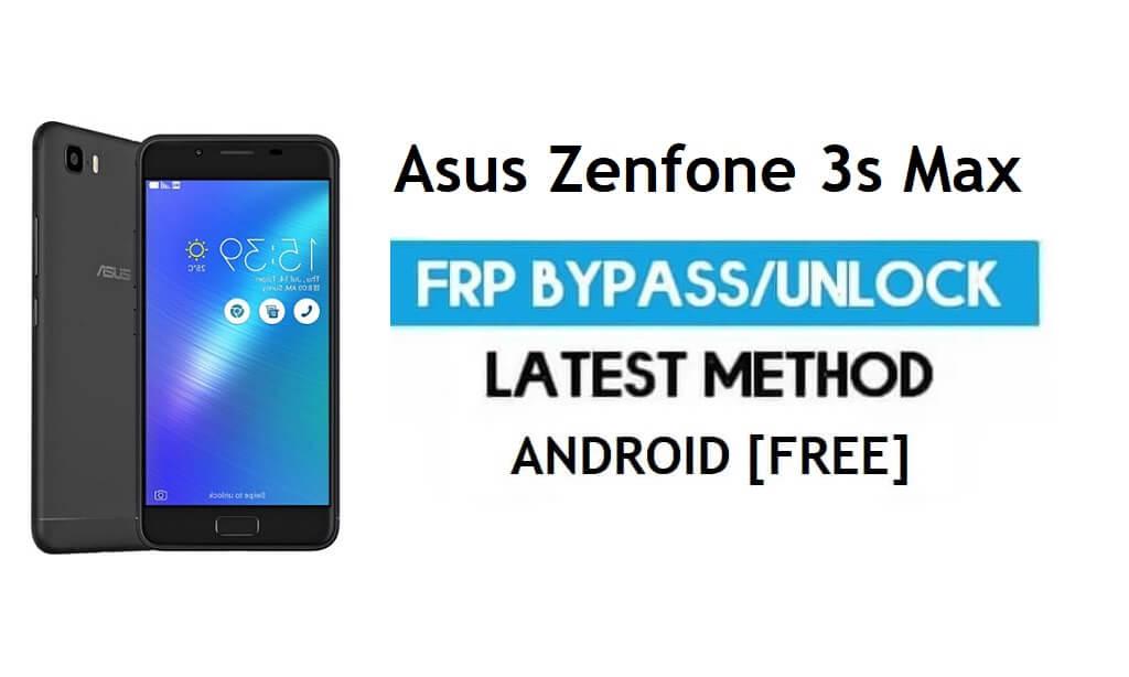 Asus Zenfone 3s Max ZC521TL FRP Bypass – Unlock Gmail Lock Free